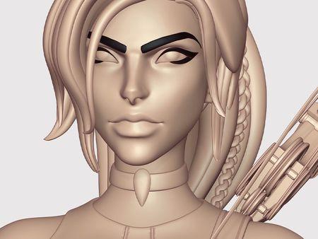 Lara Croft for Overwatch