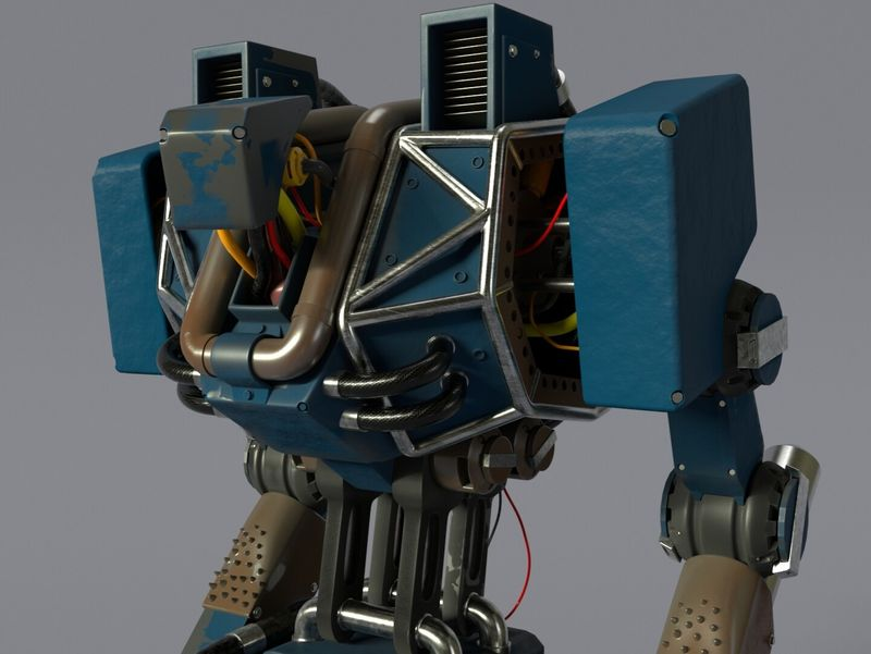 3D Bipedal Mech