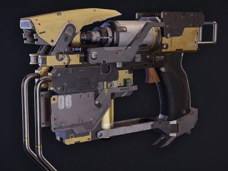 Sci-Fi Nail Gun