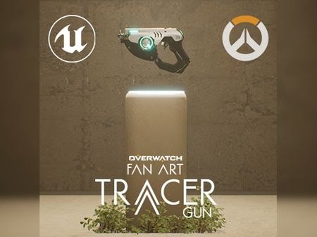Tracer Gun in UE4 - Overwatch Fan Art