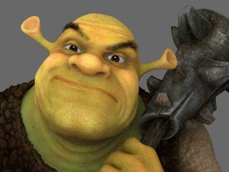 Shrek fan work