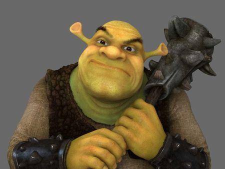 Shrek fan artwork