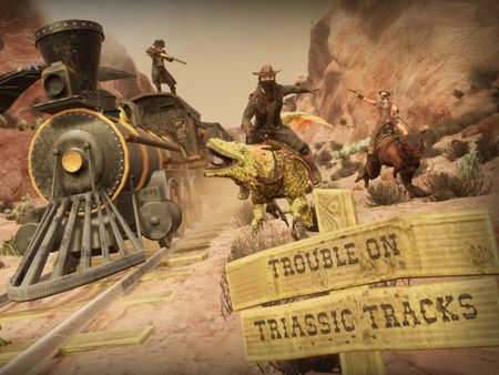 Trouble On Triassic Tracks