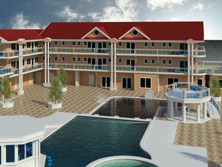 3D Model of White Water resort