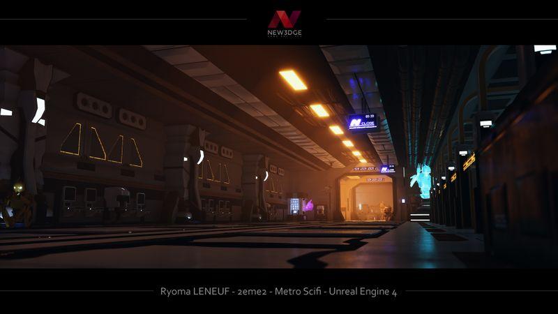 Metro Sci fi