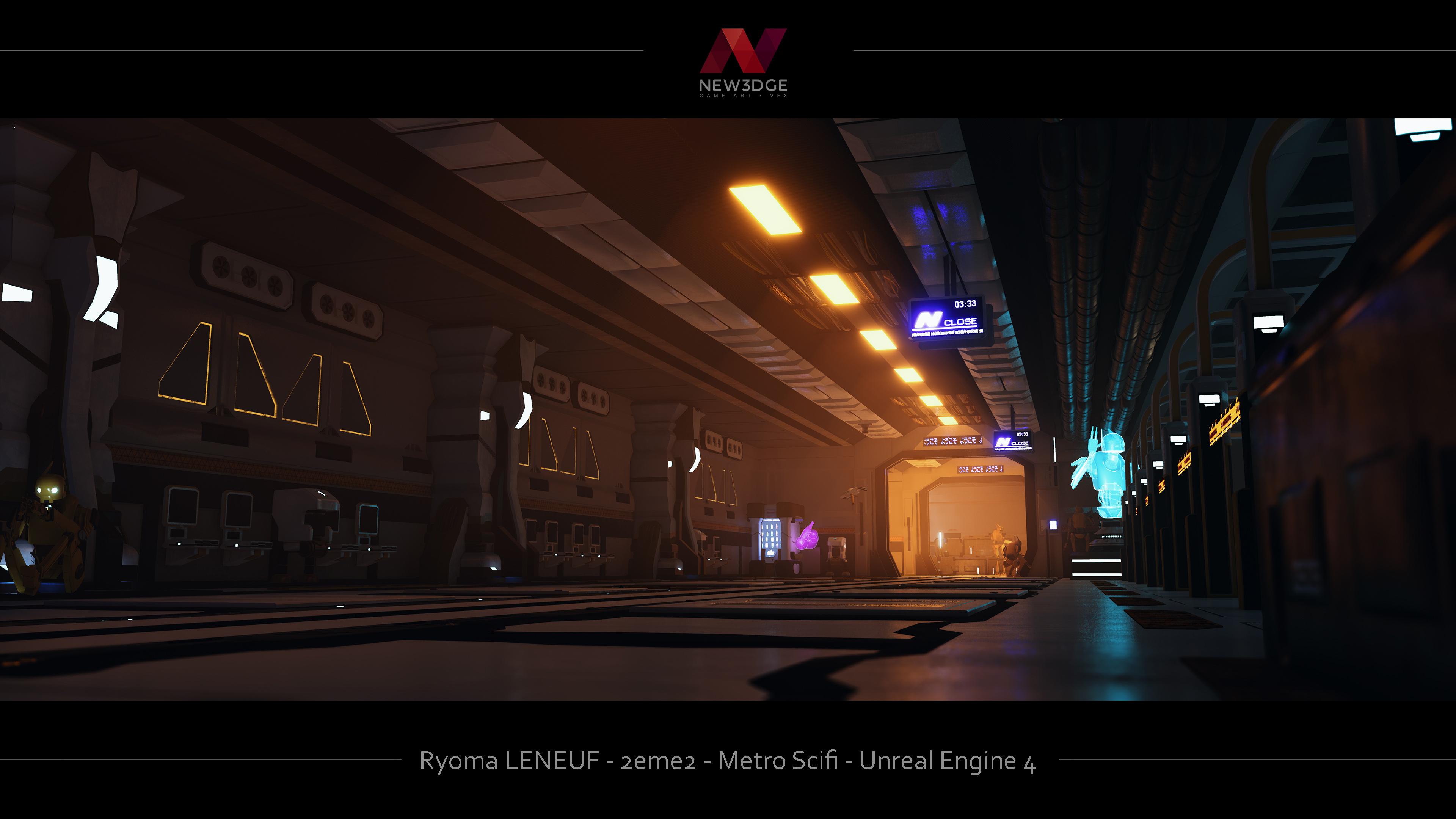 Metro Sci fi | The Rookies