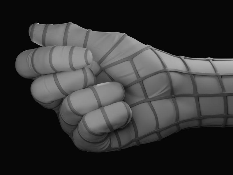 Spider-Man Hand
