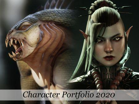 Character Portfolio 2020