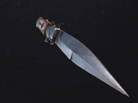 Ellie's switchblade