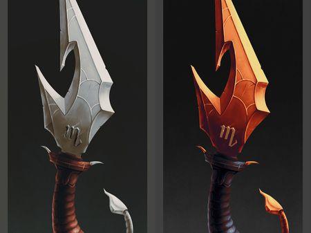Scorpio Dagger Design