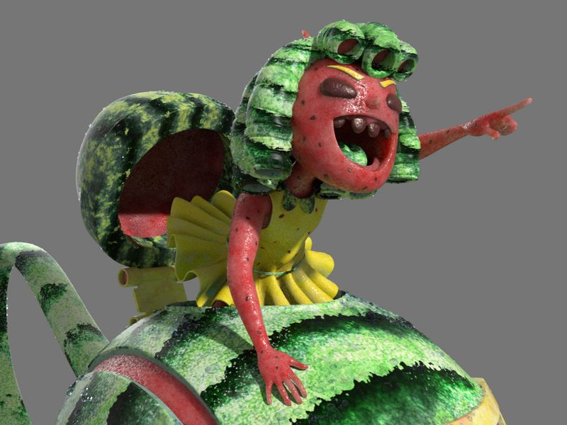 Watermelon - Rolling Teapot