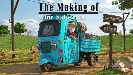 Wine salesman