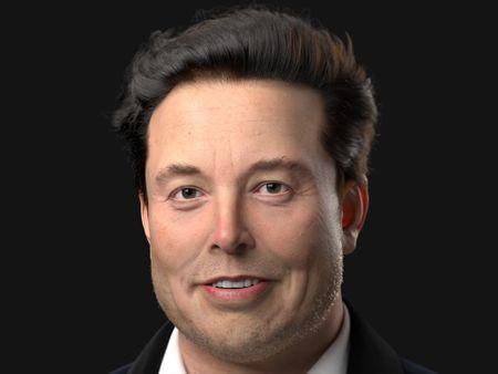 Elon Musk 3D