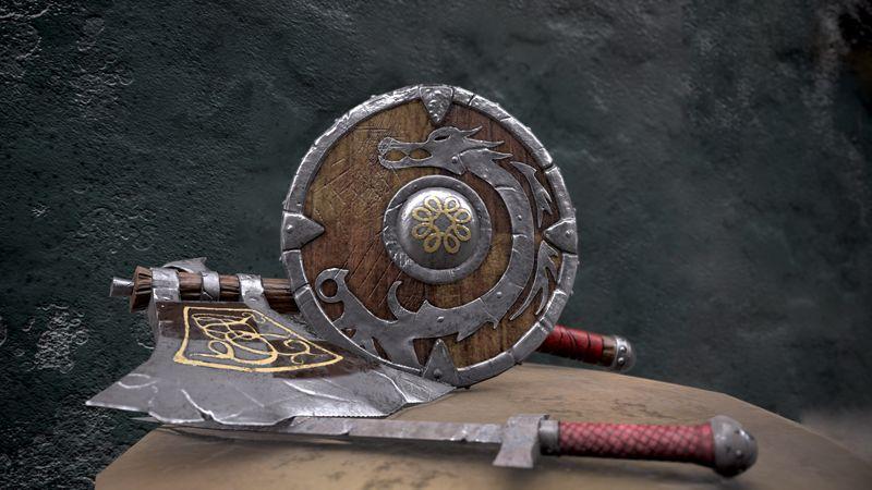 viking's weapon