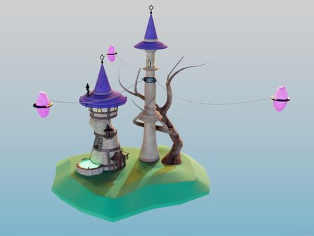 Wizard Towers
