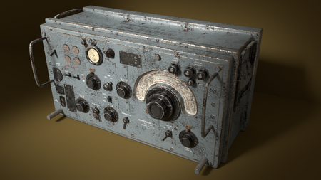 WWII R107 Military Radio