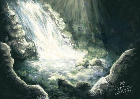 Underground Cave Concept