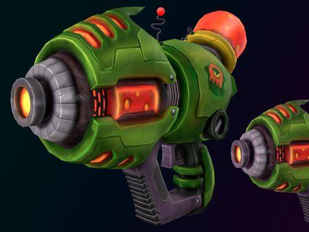 gun stylized
