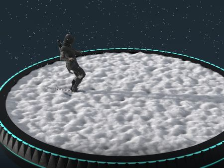 Houdini - Snow simulation