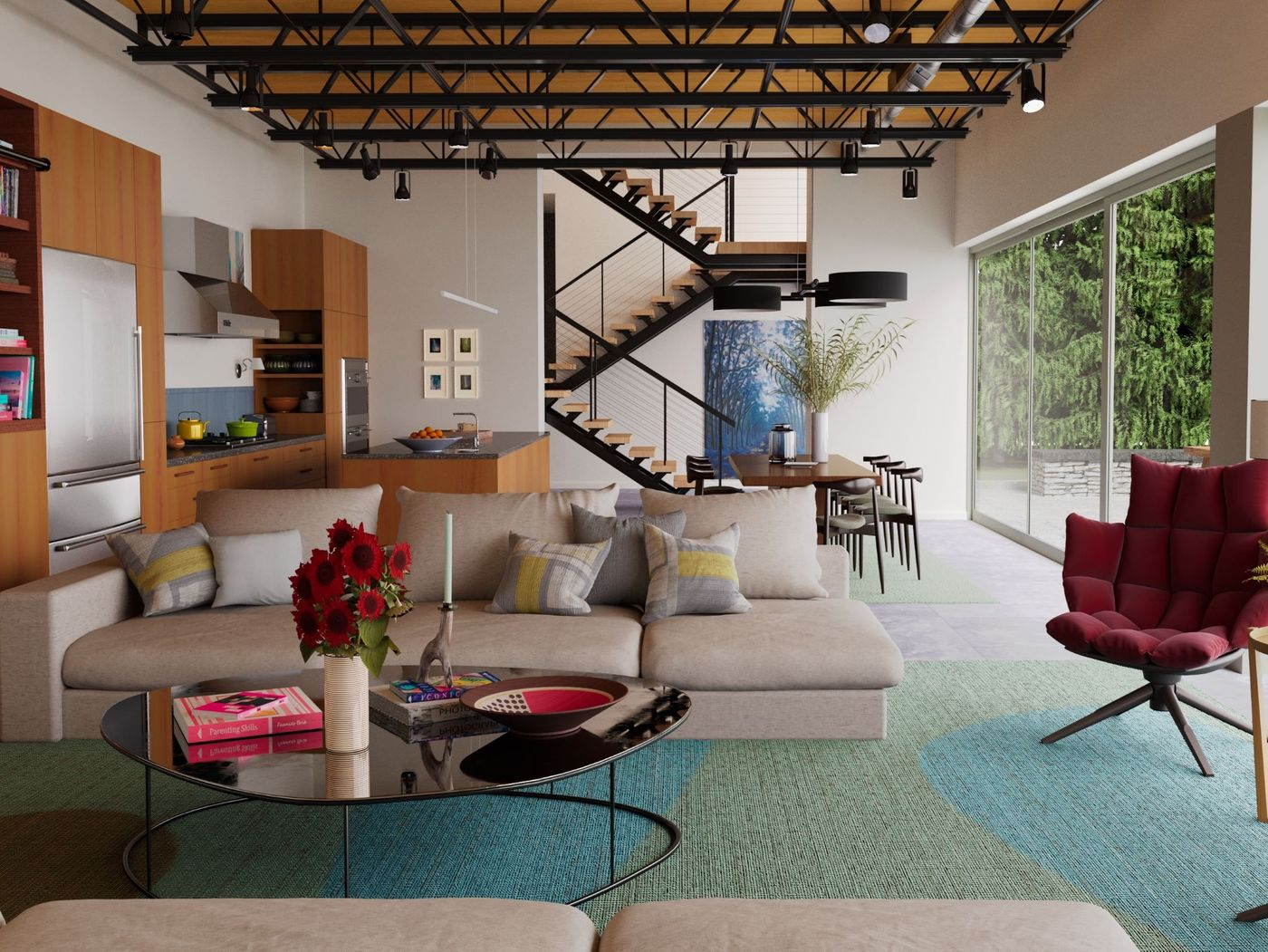 Living Room Recreation