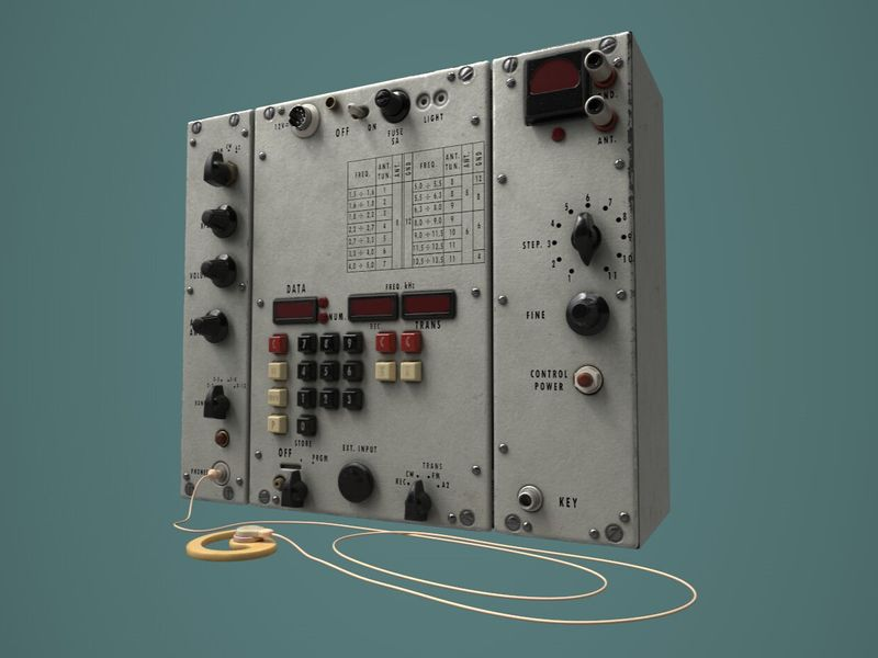 Soviet Spy Radio