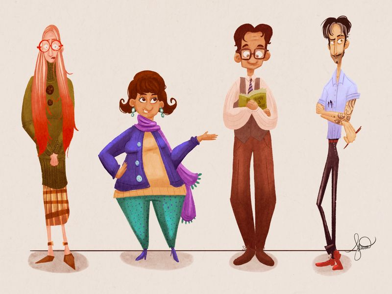 Personal Project: Character Designs