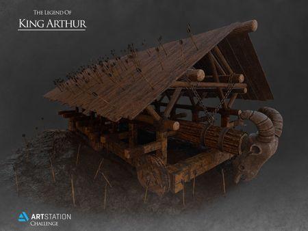 King Arthur's Battering Ram - ArtStation Challenge