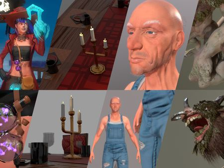 Modeling And Texturing