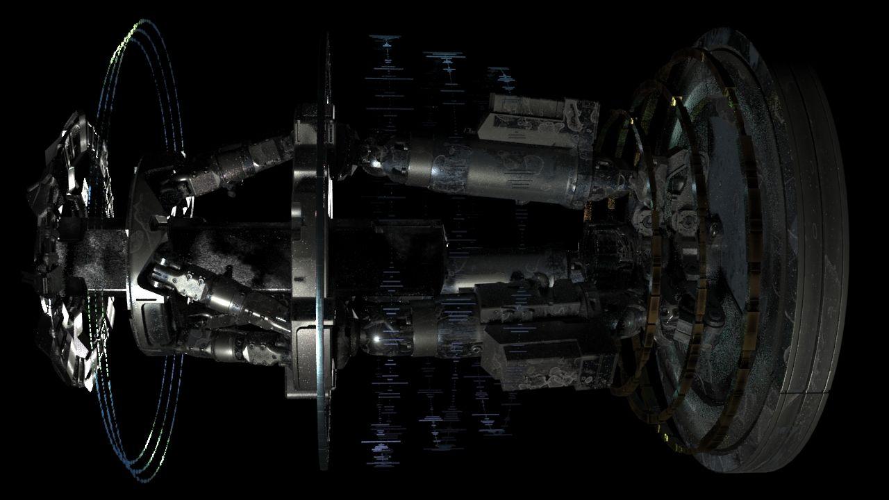5 D Sci Fi%20 Ship Sanat