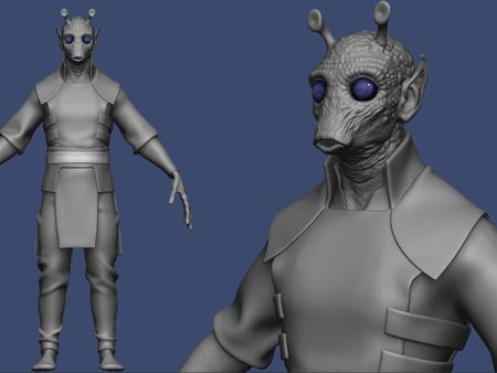 Star Wars Fan Character Model