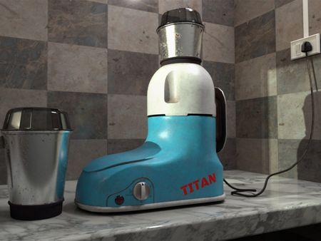Titan's Mixer Grinder, 2005 Model.