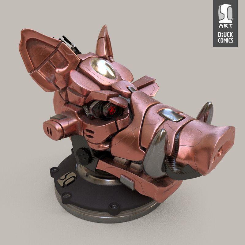 e-B04r - 3D Model