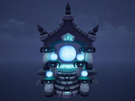 Stylised Temple