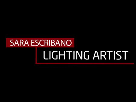 Lighting artist - Sara Escribano