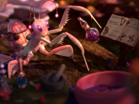 Microcosmos - Alchemist Mantis