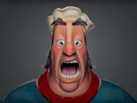 Ottavio - Character Modeling and Facial Rig