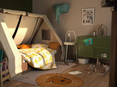 EMILE'S BEDROOM