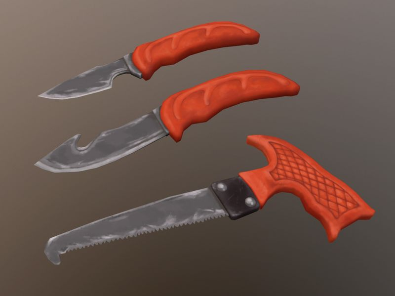 Weekly Drills: Survival Gear, Field Dressing Knife Set
