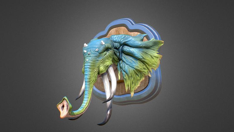 Elephant creature