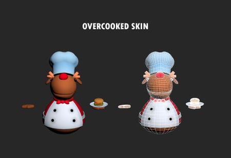 Reindeer skin (Overcooked)
