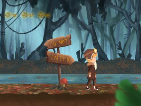 2D videogame: Ghosty Woods
