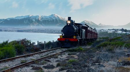 Trains and Polaroids