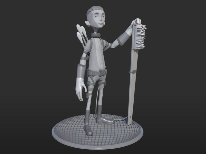 Giant Cleaner - Biped Project