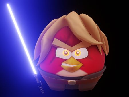 Animation on Angry Birds Star Wars II [final designs for character and concept for environment]