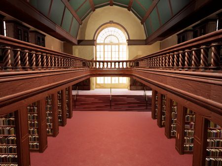 Victorian Library Model
