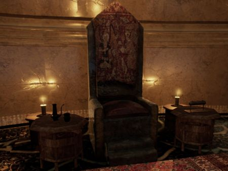 Throne Room- Real Time Environment