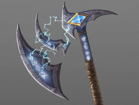 Magical Axe Weapons