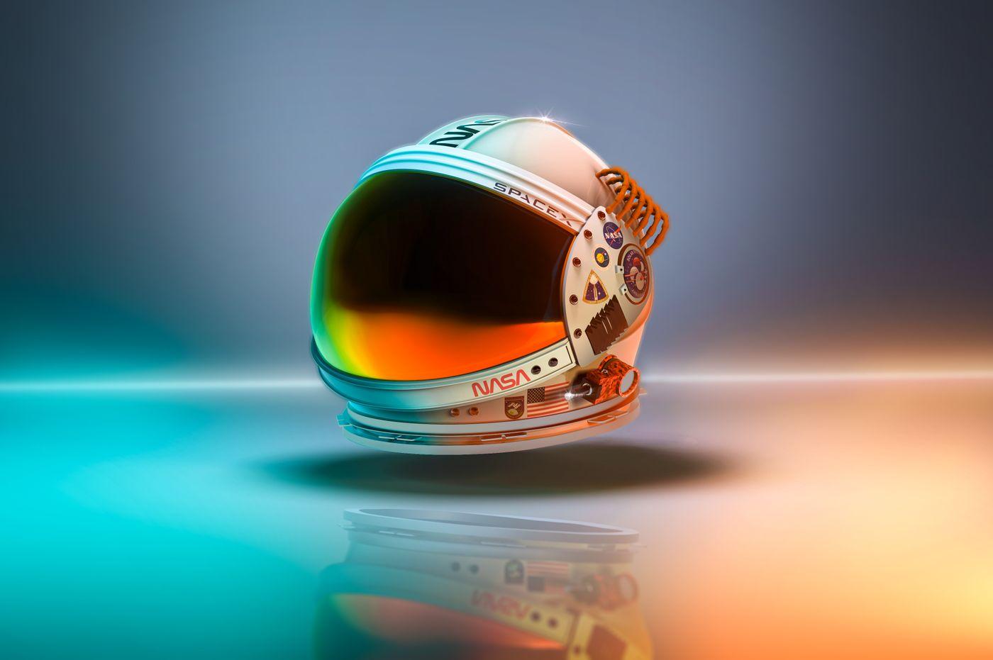 Nasa-Spacex Helmet