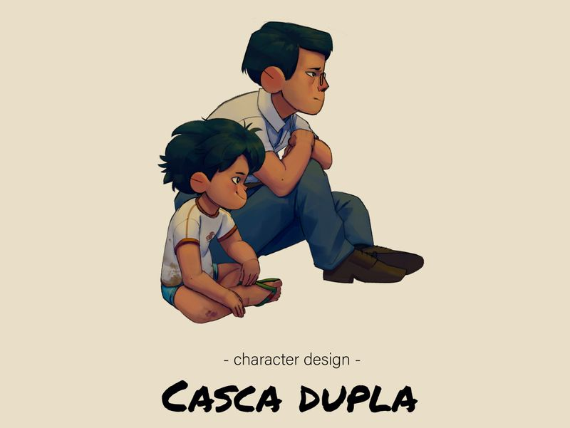 Casca Dupla - character design