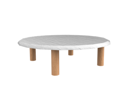 Wooden Round Tea Table